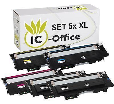 5x XL Toner für Samsung Xpress C430 C430W C480 C480FN C480FW C480W Kartusche Set