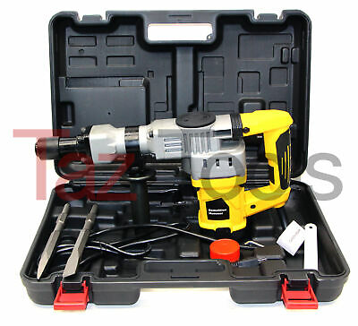 H-d Demolition Hammer Drill 1-12 Punch Chisel Rotary Drill 1280w Yellow