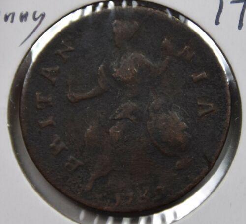 1739 Great Britain Half Penny