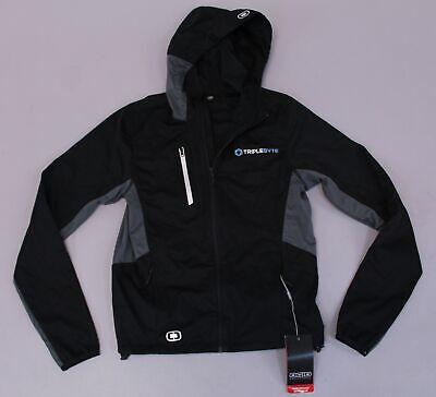 OGIO Men's Endurance Pivot Soft Shell Hooded Jacket KB8 Black Size XS NWT