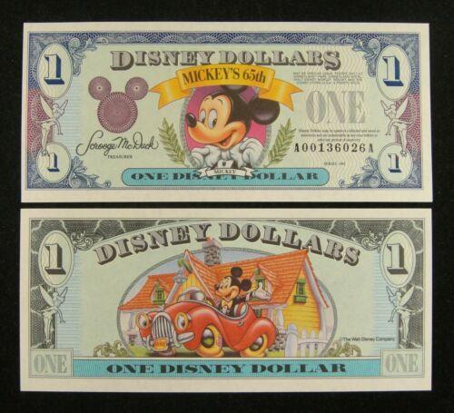 1993 $1  Mickey