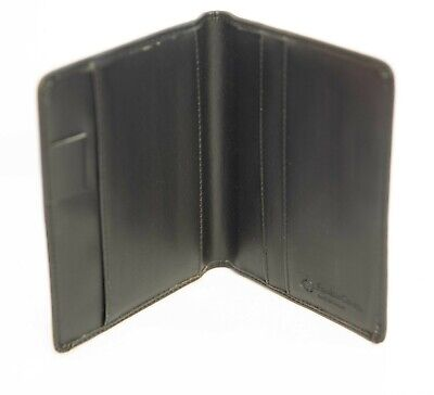 Preowned Franklin Covey Black Binder Wallet No Rings