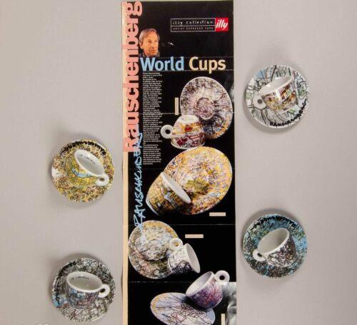 illy collection 1998 Robert Rausenberg World cups Guggenheim Museum LMTD 300