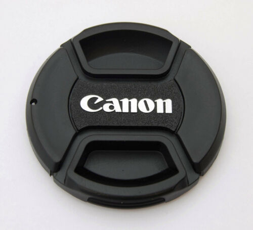 58mm Center-Pinch Front Lens Cap for Canon EOS Rebel EF-S 18-55mm 55-250mm NEW