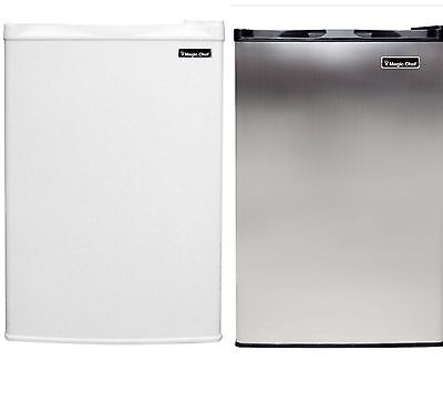 ديب فريزر جديد Magic Chef 3.0 cu ft  Compact Upright All Freezer White Or Stainless Steel