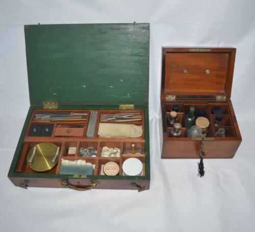 Microscope slide preparation kit – C. Baker.