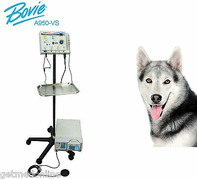 New Bovie A950 Electrosurgical Generator Wveterinary System Package A950-vs