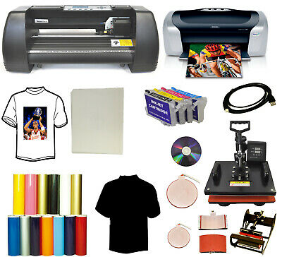 14 Laser Vinyl Cutter Plotter5in1 Heat Pressprintersublimation Tshirt Startup