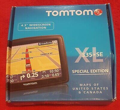 Tom Tom XL 335 SE Special Edition GPS navigation w/ Original Box Bundle