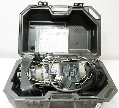 Scott Industrial Air Pack Kit 45 Min 4450psi Tank  Mask In Case