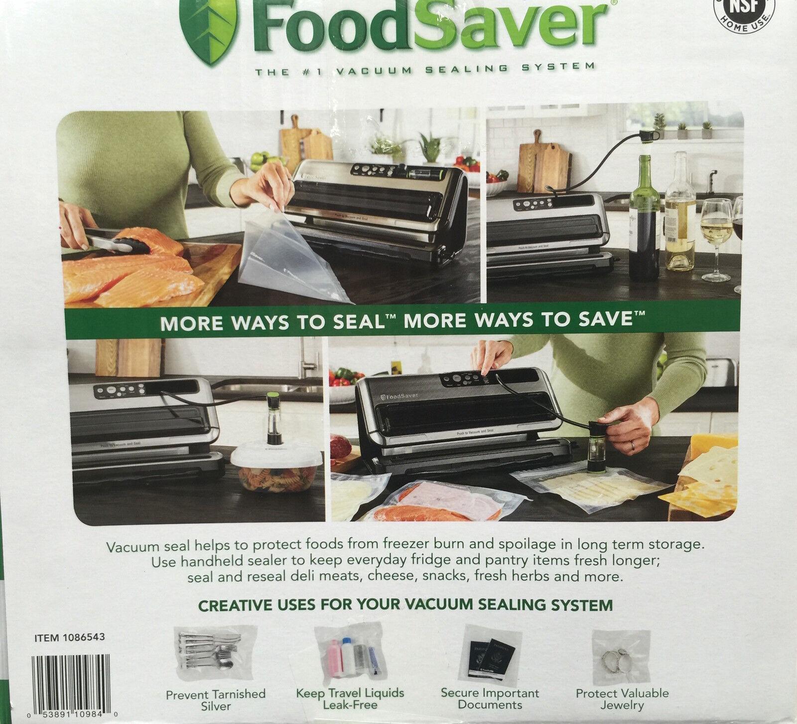New Foodsaver 5400 Series Vacuum Sealing System 5480