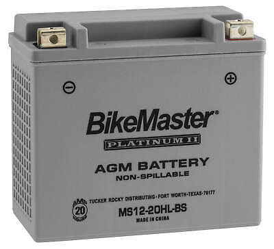 AGM Platinum II Battery BikeMaster HTX20HL-FA Replaces YTX20HL-BS - MC Apps.