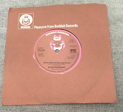 "7""  GLADYS KNIGHT WE DON'T MAKE EACH OTHER LAUGH ANYMORE 1978"
