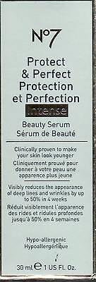 Perfect Intense Beauty Serum (NEW!   Boots No7 Protect & Perfect Intense Beauty Serum 1 Fl Oz (30 Ml))