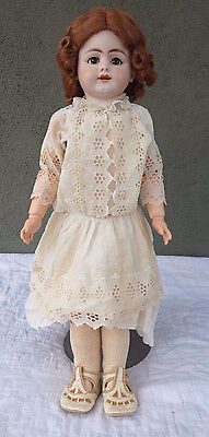 "22"" Simon and Halbig 719 Antique Bisque Doll Ball Jointed Body"