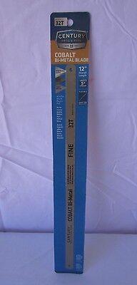 Century Drill & Tool 4432 Cobalt Bi-hard Hacksaw Blade, 12