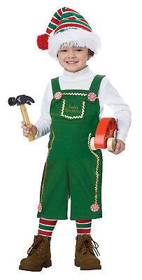 Jolly Little Elf Toddler Christmas Costume  - Toddler Elf Costume