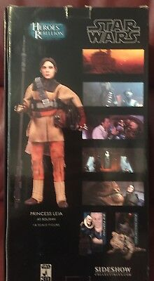 STAR WARS - Princess Leia as Boushh - SIDESHOW - 1/6 Scale Figure - UK