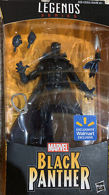 Wal-Mart Exclusive Marvel Legends Black Panther Cape Comic Book figure new N Box