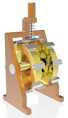 Ralph Graham Magnet Motor Free Energy Generator 3d Model Stl Step Dwg 2020