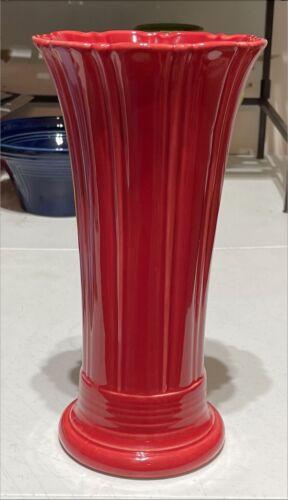 """Fiesta Scarlet 10"""" Medium Vase"""