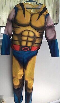 Kid's Wolverine Halloween Costume  Marvel Size Large 12 Boys NO MASK](Wolverine Halloween Costume Kids)