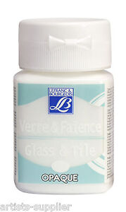 Lefranc & Bourgeois 50ml. Glass & Tile Paint All Colours - Buy 3 get 1 FREE