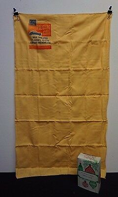 Vintage General Motors Polishing Cloth Shammy Orignal Box Greenfield Indiana