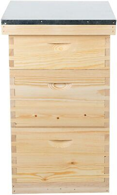 Bee Box For Beekeeper Starter Beekeeping Supplies Equipment Tool Complete Hive