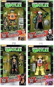 WWE Ninja Turtles Superstars Complete Set