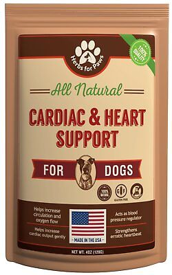 Dog Cardio Strength Heart Supplement, vitamins for pet heart health   Made in