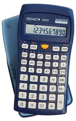 GENIE 52SC Schulrechner Wissenschaftlicher Taschenrechner Schul Tisch Rechner - 5,90 €