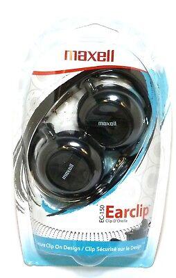MAXELL 190561 EC150 Ear Clip Headphones/Earphones,for mp3,Radio,phone (Maxell Ec150 Stereo)