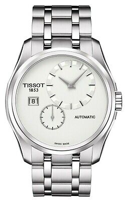 Tissot Couturier Automatic Men's Watch T0354281103100 White Dial Stainless Steel