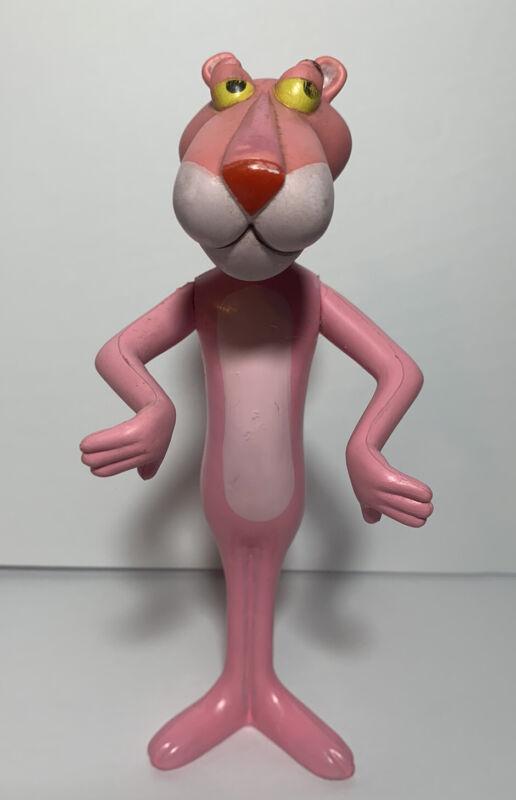 """Vintage Pink Panther Plastic Figure, 1971 Mirisch Geoffrey R. Dakin & Company 8"""""""