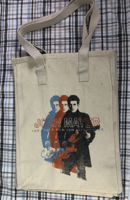 John Mayer The Search For Everything Canvas Bag