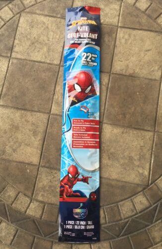 "- Marvel Spiderman 22"" Poly Diamond Kite New"