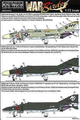 (Kits World Decals 1/72 MCDONNELL DOUGLAS F-4 PHANTOM II Part 1)