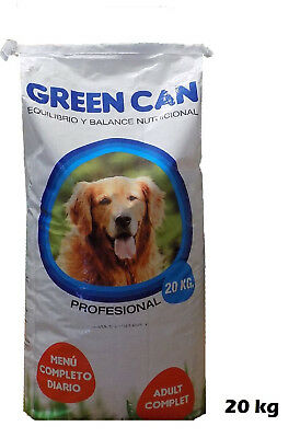 Bag of food food for dogs adults GREEN CAN MAINTENANCE 44.1lbs