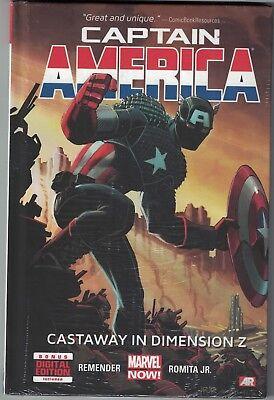 CAPTAIN AMERICA CASTAWAY IN DIMENSION Z Vol 1 HC Hardcover $24.99srp Sealed New