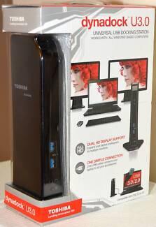 Toshiba Dynadock U3 Universal USB 3.0 (or USB 2) Docking Station Randwick Eastern Suburbs Preview