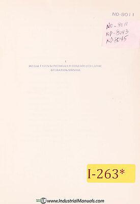 Ikegai Fx20n Nc Lathe Operations And Programming Manual