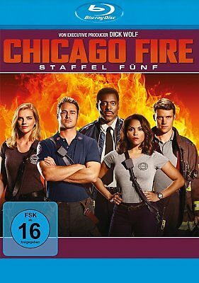 Chicago Fire - Season/Staffel 5 # 6-BLU-RAY-BOX-NEU