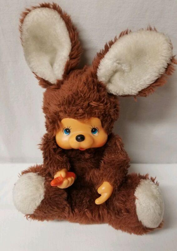 Monchichi bunny rabbit Moncici Mon Chichi Mon Chi Chi?? Vintage RARE  zayre corp