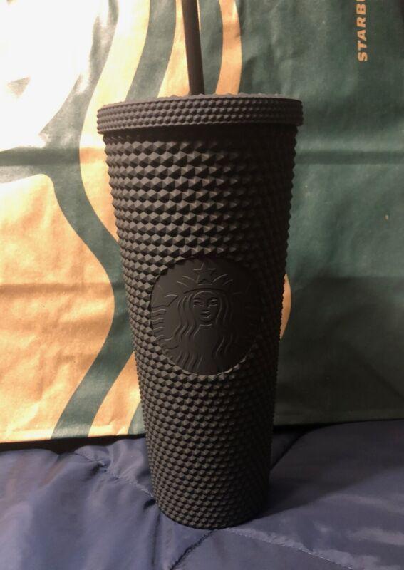 Starbucks Studded Black Matte 24 OZ Tumbler 2021 🚨BRAND NEW🚨
