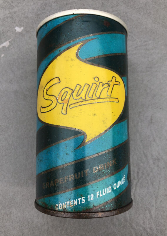 Vintage squirt Soda Pop Can