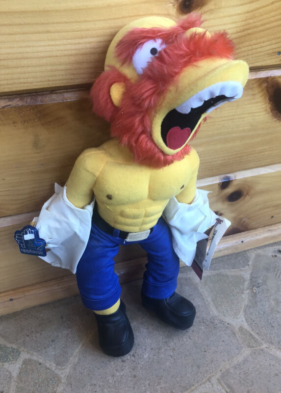 The Simpsons Groundskeeper Willie Plush Raging Willie Stuffed Doll Toy *NEW*