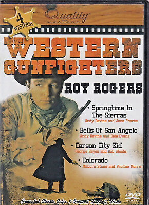 WESTERN GUNFIGHTERS: ROY ROGERS DVD (4 MOVIES) (B) for sale  Oakville