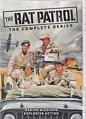 RAT PATROL  - The Complete Series DVD ( P )
