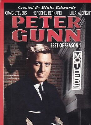 PETER GUNN BEST OF SEASON 1 DVD (2 DISC SET)